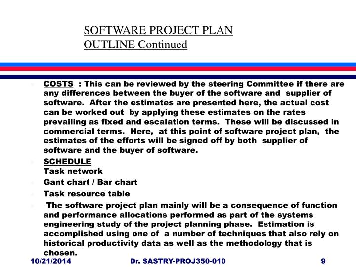 outline of a project plan koni polycode co