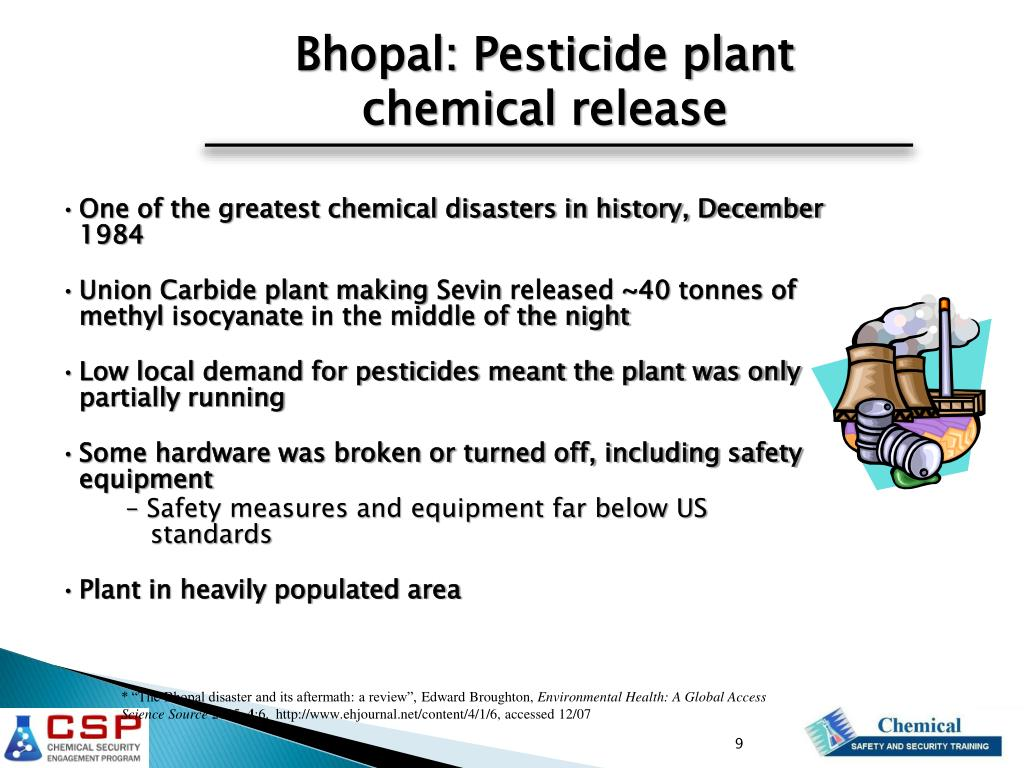 PPT - Chemical Safety and Security Overview PowerPoint Presentation