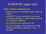 eurostat paper ctd1