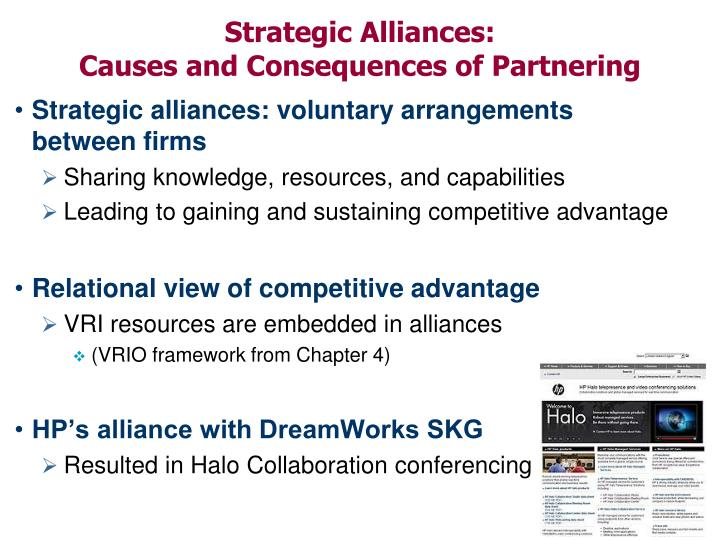 advantages of strategic alliances and network structures today Chapter 7—cooperative strategy complementary strategic alliances network some firms are more effective at managing alliances and deriving benefits.