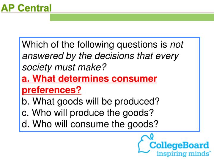 Which of the following questions is