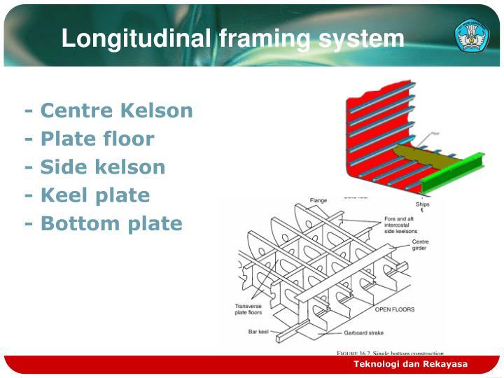 Longitudinal framing system
