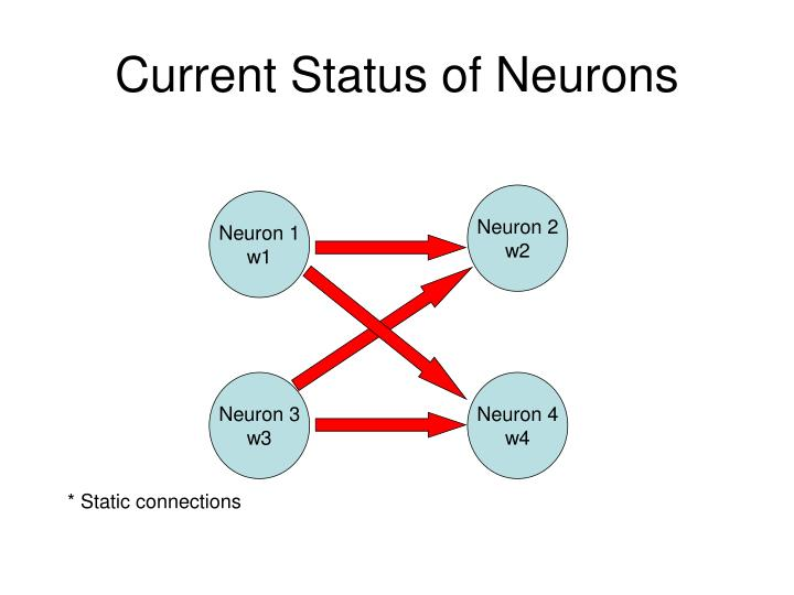 Current status of neurons