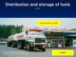 distribution and storage of fuels return