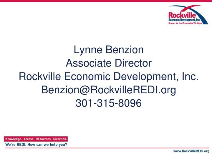 Lynne Benzion