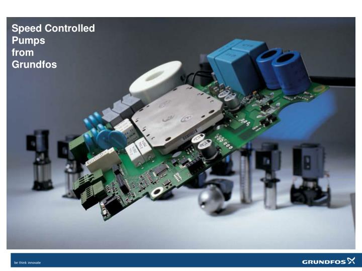 speed controlled pumps from grundfos n.