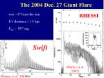 the 2004 dec 27 giant flare
