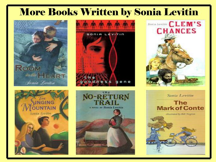 More Books Written by Sonia Levitin