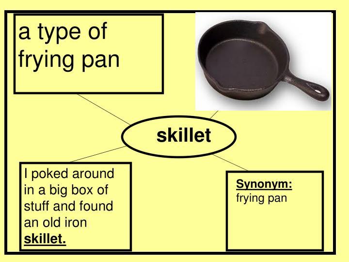 a type of frying pan