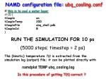 namd configuration file ubq cooling conf1