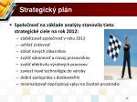 strategick pl n