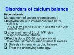 disorders of calcium balance10