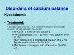disorders of calcium balance5