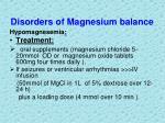 disorders of magnesium balance6