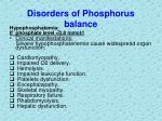 disorders of phosphorus balance2