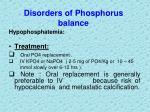 disorders of phosphorus balance3