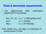 fluid electrolyte requirements2