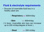 fluid electrolyte requirements3