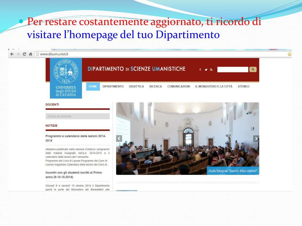 Disum Calendario Esami.Ppt Corso Di Laurea In Filosofia Powerpoint Presentation