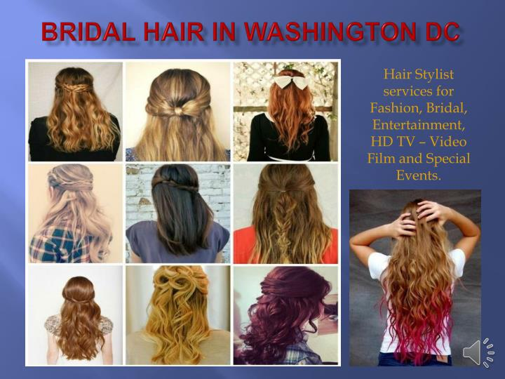 Bridal Hair in Washington DC