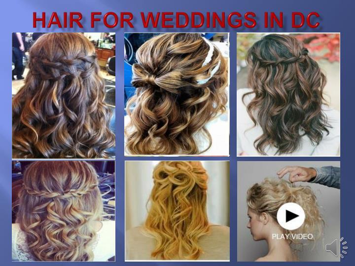Hair for Weddings in DC