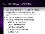 the technology committee1
