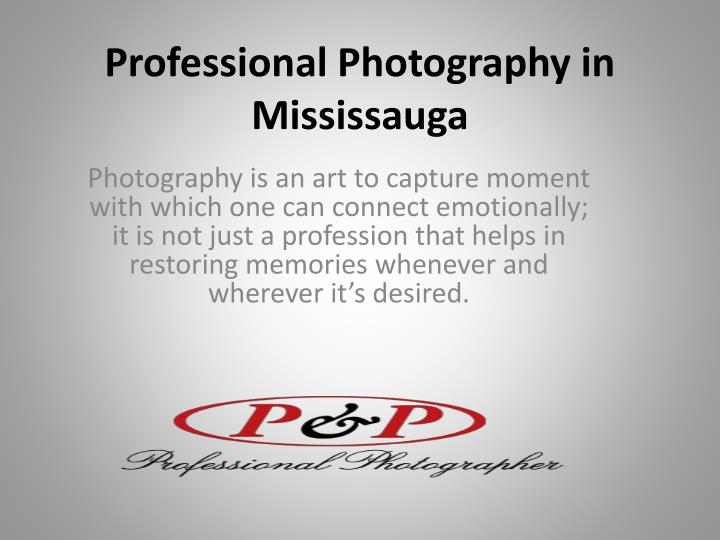 professional photography in mississauga n.