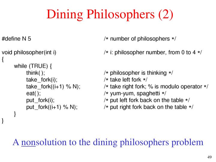 Dining Philosophers (2)