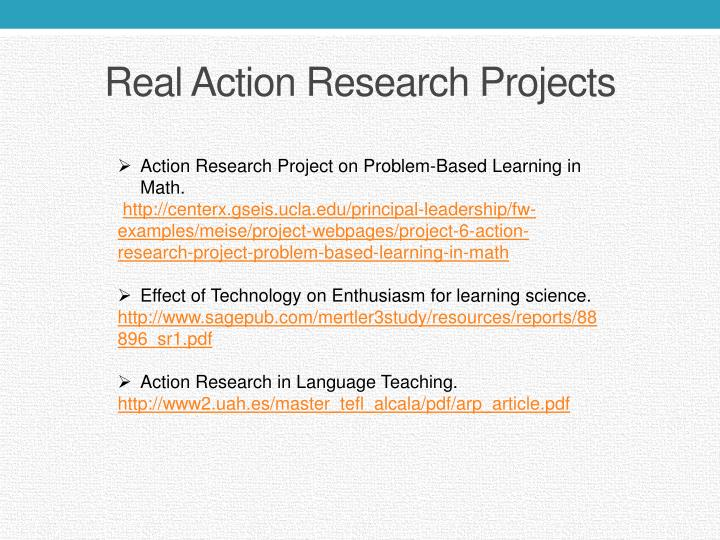 maths action research Action research projects: vol 2 welcome to the graduate school of education(gse), george mason university located in fairfax virginia which is a part of the college of education and human development(cehd) which offers phd, graduate certificates and master's degree options.