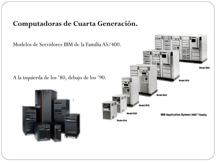 Computadoras de Cuarta Generación