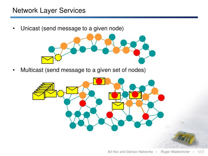Network layer services