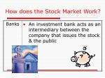 how does the stock market work2