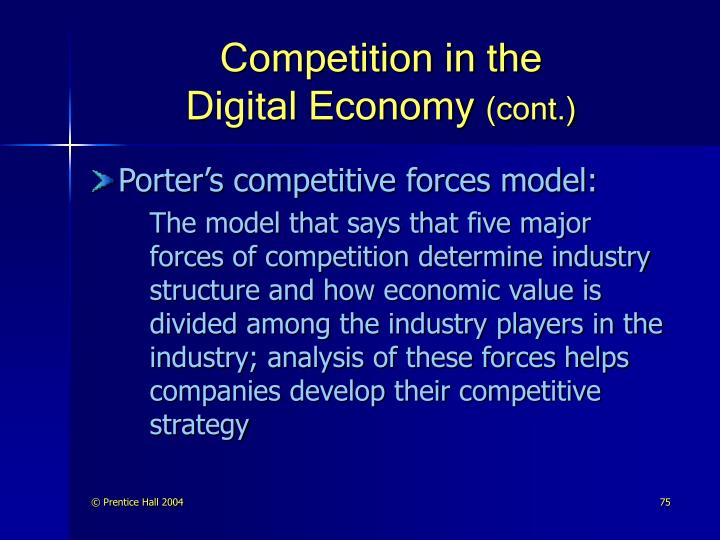 Competition in the