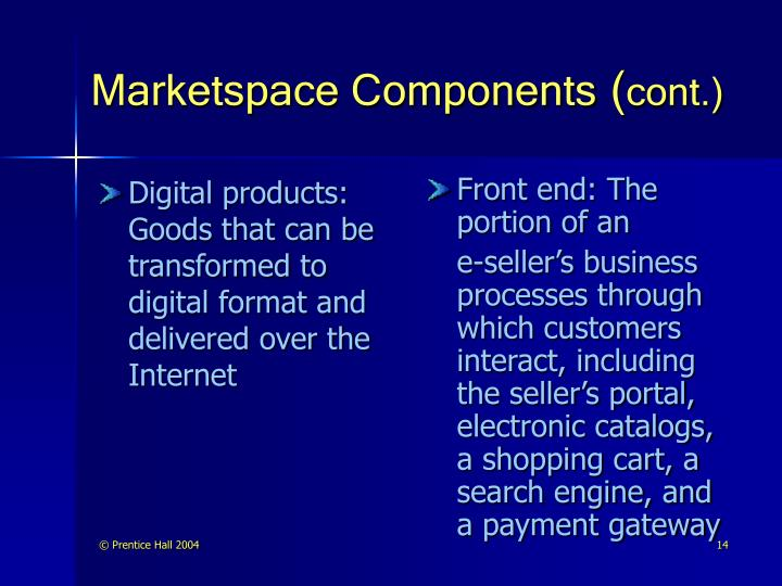 Digital products: Goods that can be transformed to digital format and delivered over the Internet