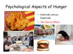 psychological aspects of hunger
