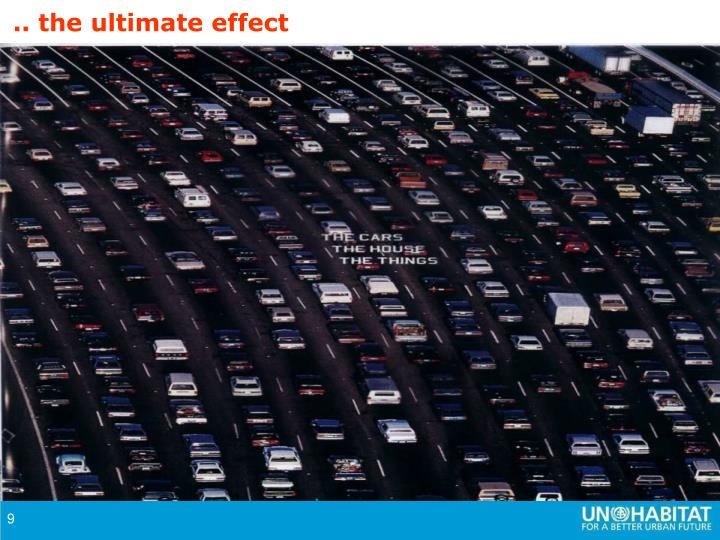 .. the ultimate effect