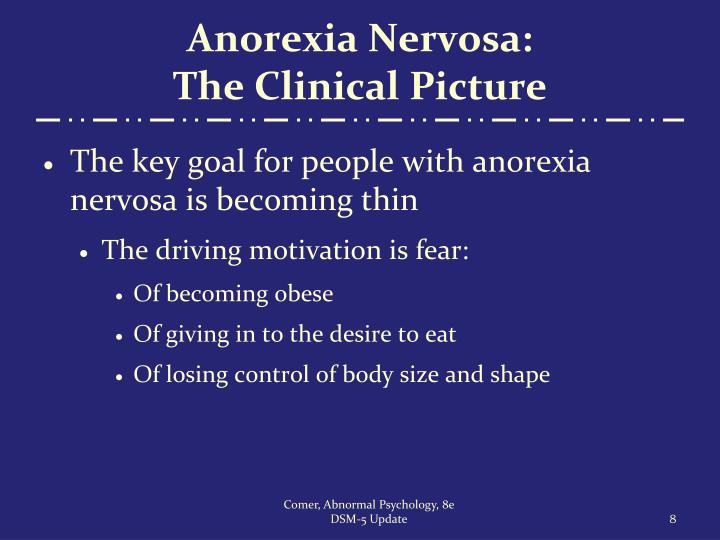 Anorexia Nervosa: