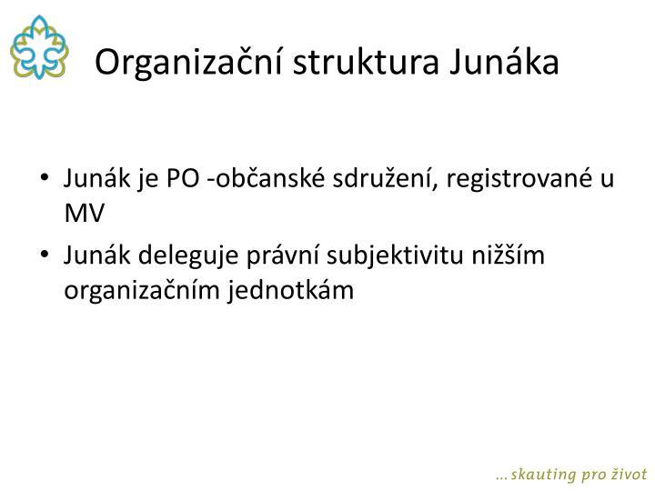 Organiza n struktura jun ka