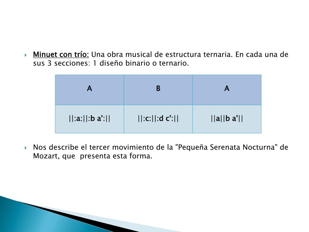 Ppt La Forma Musical Powerpoint Presentation Free