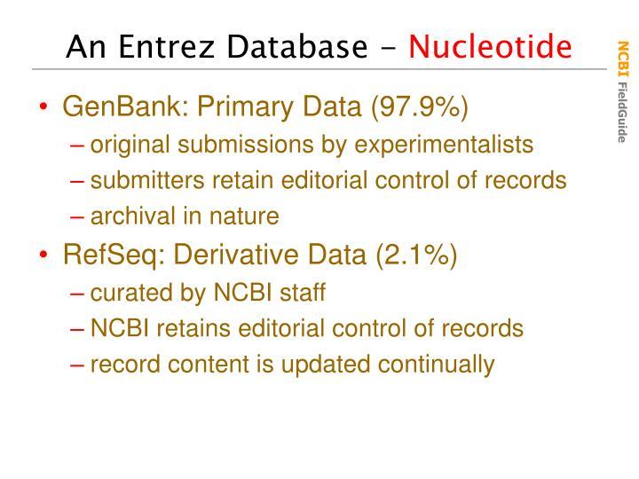 An Entrez Database -