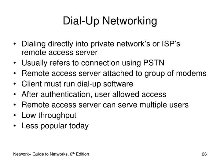 Dial-Up Networking