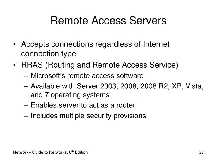 Remote Access Servers