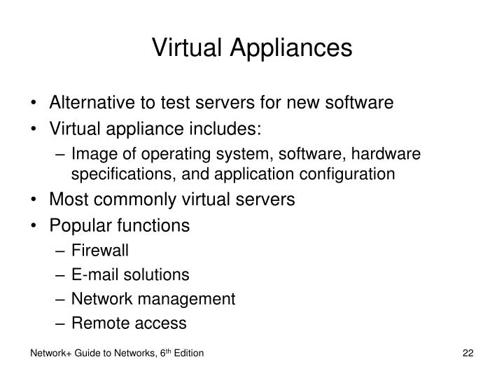 Virtual Appliances