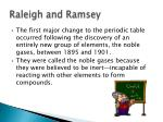 raleigh and ramsey