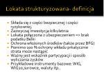 lokata strukturyzowana definicja
