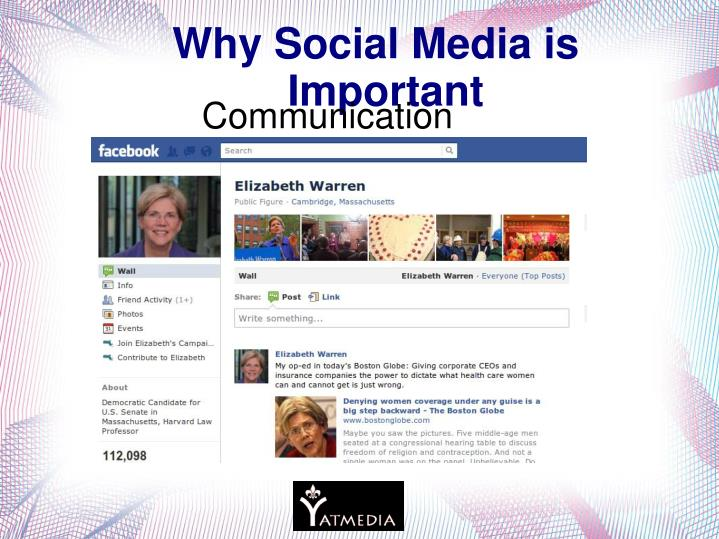Why Social Media is Important