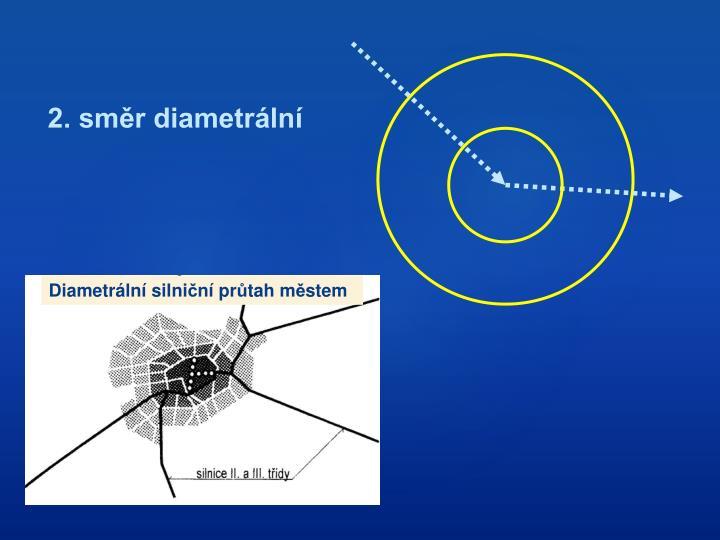 2. směr diametrální