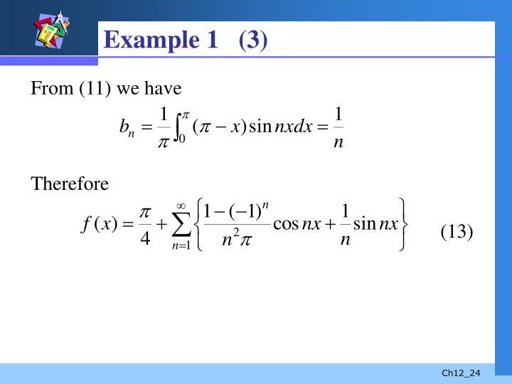 Example 1   (3)