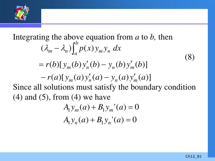 Integrating the above equation from