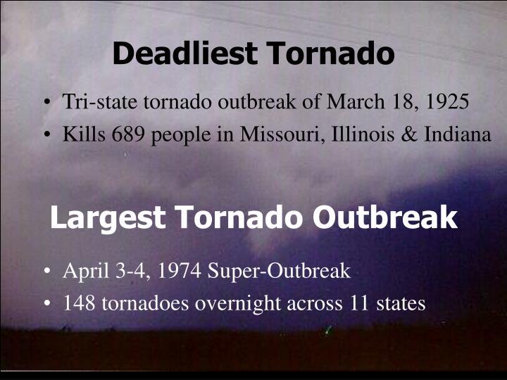 Deadliest Tornado